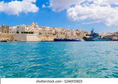 SENGLEA, MALTA - SEP 21, 2016: City and fortifications