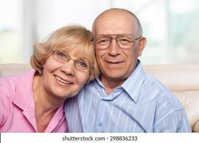 Senior Adult, Couple, Old.
