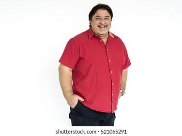 Senior Adult Man Smiling Happiness Portrait Concept