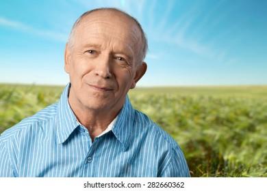 Senior Adult, Men, Depression.