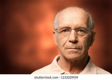 Senior Adult nursing Home Portrait