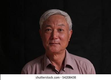 senior Asian man