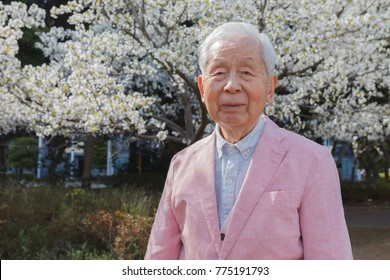 Senior cherry blossom