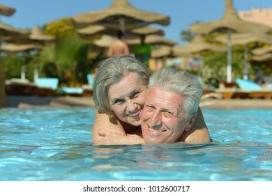 Senior couple relaxing