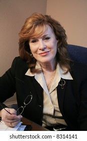 Senior Executive Woman Portrait
