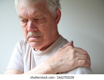 Senior experiences soreness in his shoulder joint
