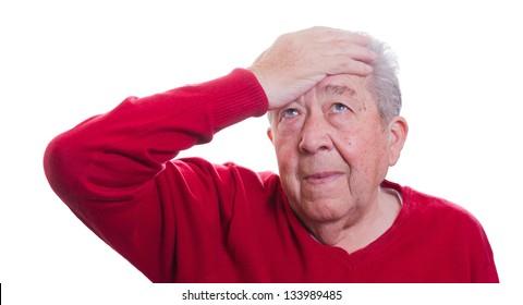 Senior has concerns