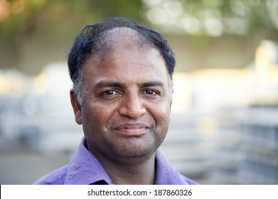 Senior Indian Man portrait