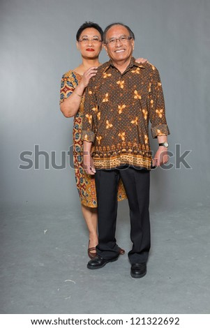 Mature couple Indonesian