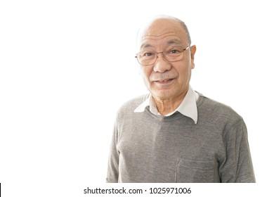 Senior man image