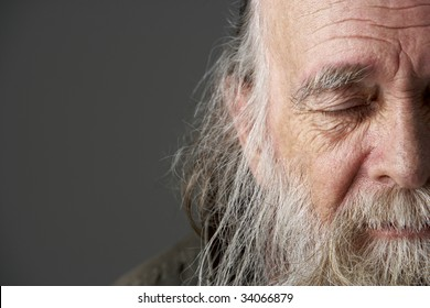 Old Man With Long Hair Images Stock Photos Vectors Shutterstock