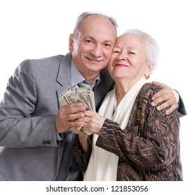 dating an older man for money
