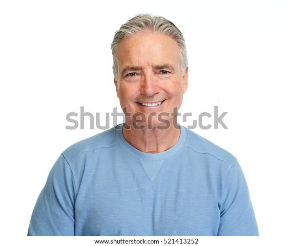 Porträt von Senior Man.