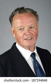 Senior man in a suit