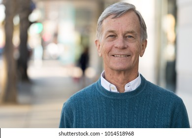 Senior mature man