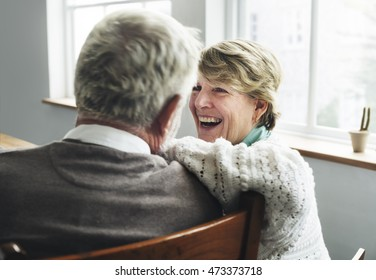 Senior Retirement Couple Husband Wife Concept
