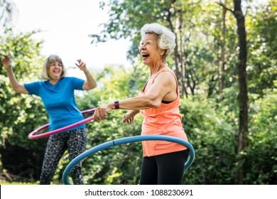 Senior Exercise Images Stock Photos Vectors Shutterstock