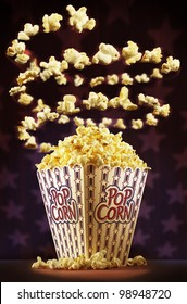 Sensational american popcorn spiral