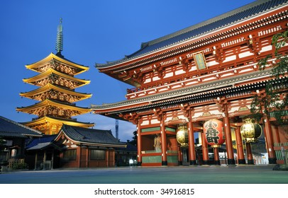 Sensoji Asakusa in Japan