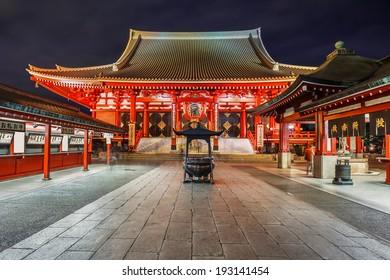 Sensoji Temple (Asakusa Kannon) in Tokyo