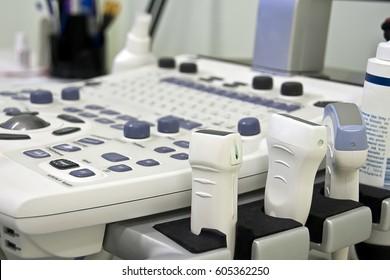 Sensors of the uzi apparatus, medical equipment, ultrasound machine