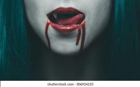 Female Vampire Images Stock Photos Vectors Shutterstock
