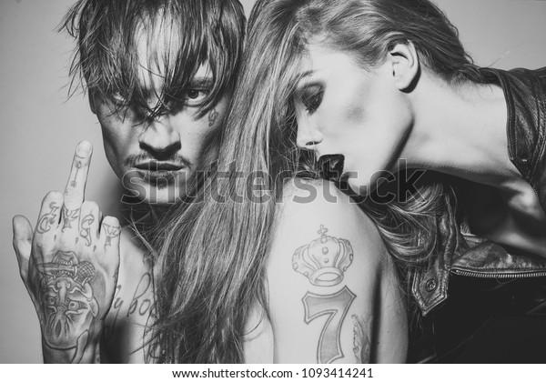 Jeu D Amour Sensuel Couple Amoureux Femme Sexy Photo De Stock Modifier Maintenant 1093414241