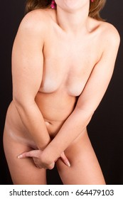 Sensual woman with no clothes