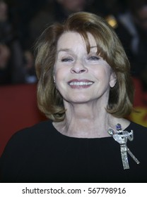 Senta Berger attends the 'Hail, Caesar!' Premiere during the 66th Berlinale International Film Festival on February 11, 2016 in Berlin, Germany.