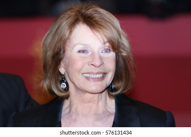 Senta Berger poses on the red carpet during opening ceremony of the 67th Berlinale International Film Festival at Grand Hyatt Hotel in Berlin, Germany on February 9, 2017.