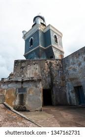 Sentry tower, Castillo San Felipe del Morro San Juan, Puerto Rico