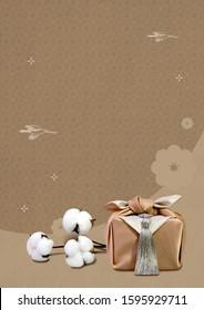 Seollal (Korean New Year) greeting card template. - Shutterstock ID 1595929711