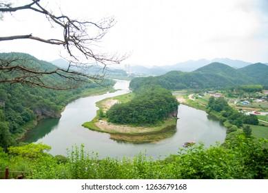 Seonam Village of Yeongwol in Gangwon-do, Korea