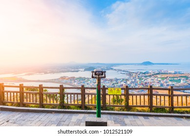 Seongsan Ilchulbong , Jeju Island , South Korea