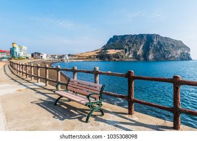Seongsan Ilchulbong , Jeju Island, South Korea