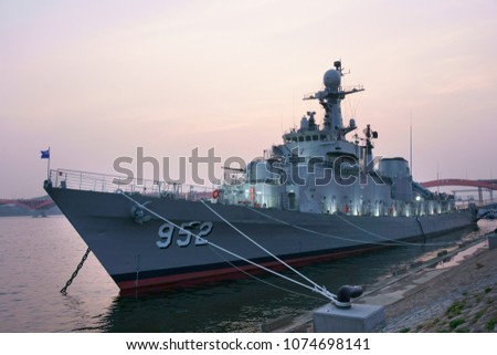 Corea del Sur donará una fragata a la Armada (será para patrullaje) Seoul-battleship-park-opened-on-450w-1074698141