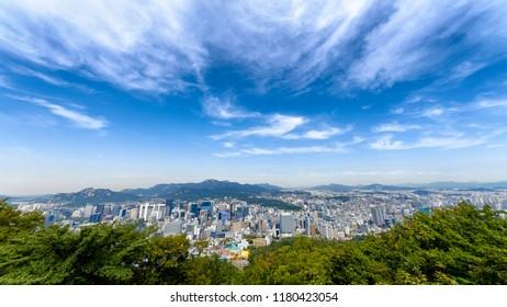 Seoul city, Korea south.