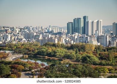 Seoul city views - Central Seoul