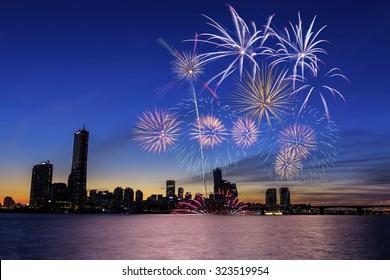 Seoul International Fireworks Festival 2015