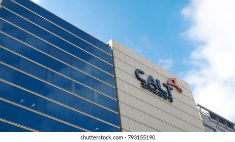 Seoul, Korea -JAN,14 2018,Building of CALT  City Airport, Logis & Travel,- The Korea City Air Terminal in Gangnam district located in the COEX complex