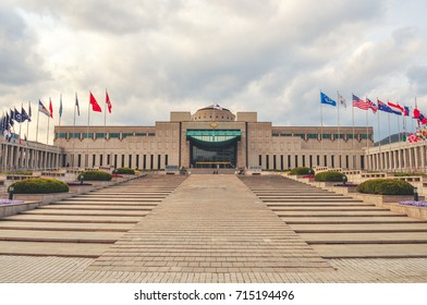 SEOUL, SOUTH KOREA - APRIL 27, 2011: The War memorial of Korea in Seoul, South Korea