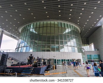 SEOUL, SOUTH KOREA - AUG 2: The National Museum of Korea in Seoul, South Korea on August 2, 2014. The National Museum of Korea is the flagship museum of Korean history and art in South Korea.