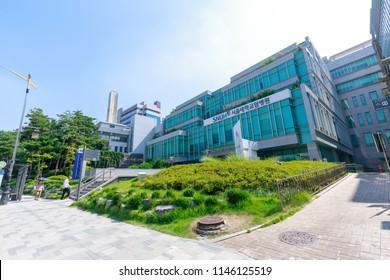 Seoul, South Korea - July 21, 2018 : Seoul National University Hospital building in Jongno-gu, Seoul city