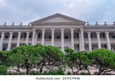 SEOUL, SOUTH KOREA - JULY 21, 2019: Deoksugung Palace in Seoul South Korea