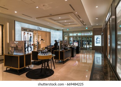 Seoul, South Korea - May 2017 - Empty Lotte store, because of the problem of Sade, China and South Korea relations stiff, Lotte was resisted, Lotte popularity sharp drop.