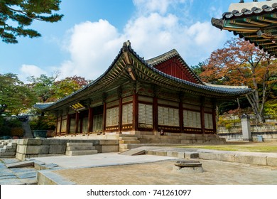 SEOUL, SOUTH KOREA, November 3th 2016: Changgyeonggung Palace