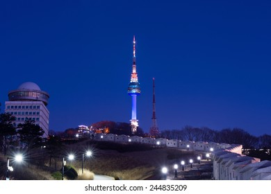 Seoul tower,Namsan tower in korea