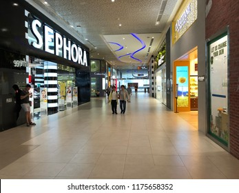 Sep 09/2018 Shops at Plaza Singapura shopping mall during morning, Singapore