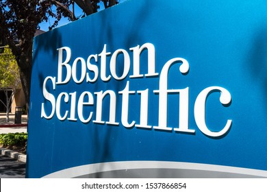 Sep 16, 2019 Fremont / CA / USA - Boston Scientific office buildings in Silicon Valley; Boston Scientific Corporation is a manufacturer of medical devices used in interventional medical specialties