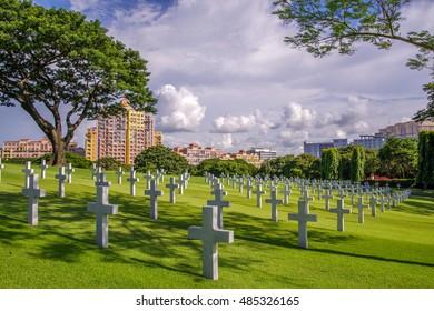 Sep 19, 2016 Manila American Cemetery, Metro Manila, Philippine